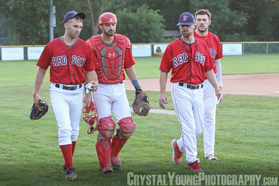 Brantford Red Sox vs. Barrie Baycats Intercounty Baseball League August 4, 2021