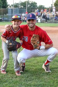 Brantford Red Sox vs. Hamilton Cardinals Intercounty Baseball League July 23, 2021