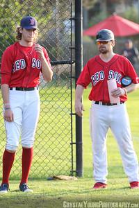 Brantford Red Sox vs. London Majors Intercounty Baseball League July 14, 2021 Arnold Anderson Stadium, Brantford