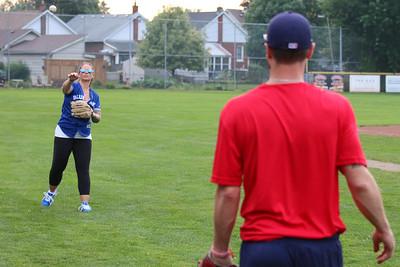 Brantford Red Sox vs. Toronto Maple Leafs Intercounty Baseball League August 13, 2021