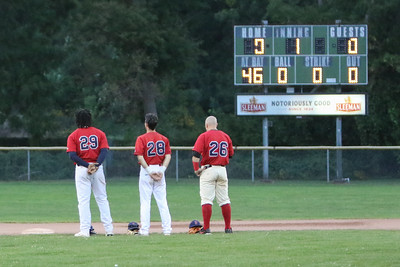 Brantford Red Sox vs. Kitchener Panthers Intercounty Baseball League Quarterfinals, Game 2 September 11, 2021