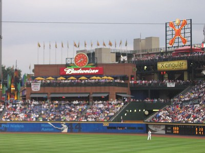 Braves/Fire Works - July 4, 2005