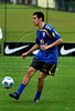 Brazilian national soccer team player Kaka, from Italy's Milan, trains during a practice session in Teresopolis, Rio de Janeiro, Brazil, March 27, 2009. Brazil will face Ecuador in a World Cup South Africa 2010 qualifying soccer match on March 29 in Quito. (Austral Foto/Renzo Gostoli)