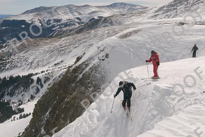 Extreme ski school. Peak 8, Breckenridge. Yes, that is a class.