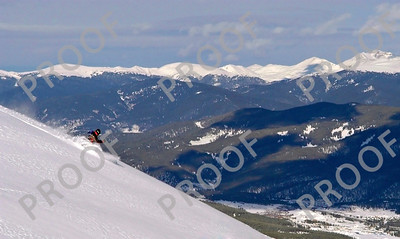 Fun with a telephoto. Try and guess where this was taken! Yes, it is in-bounds and you ski near it every day.