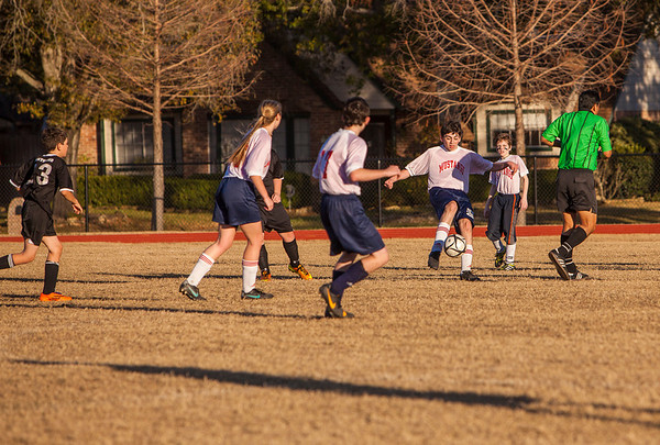 Briarwood Jr. High Soccer - Jan. 14, 2014