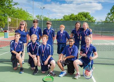 Briarwood Jr. High Tennis - 2014