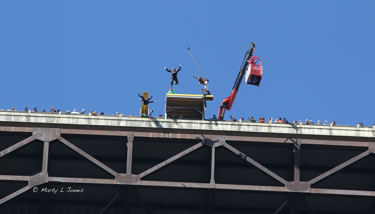 """32nd Annual Bridge Day Celebration, Fayetteville, West Virginia, October 15, 2011.  Hover mouse over photo and click """"X3"""" to enlarge photo's."""