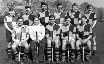 First BGS Hockey team in 1957
