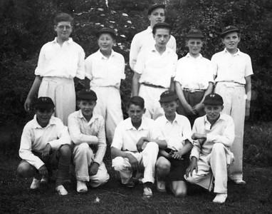 1953  2nd eleven Cricket team at BGS