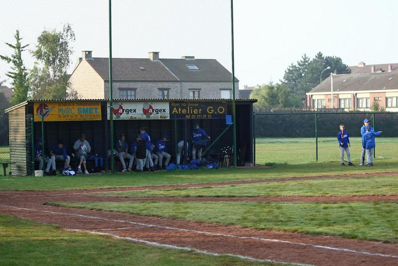 Briqville Sluggers - Hoboken Pioneers (Steendorp, 27/09/2009)