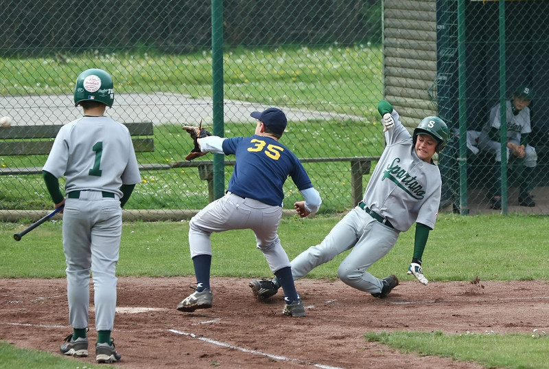 Briqville Sluggers - K. Deurne Spartans (Steendorp, 09/05/2010)
