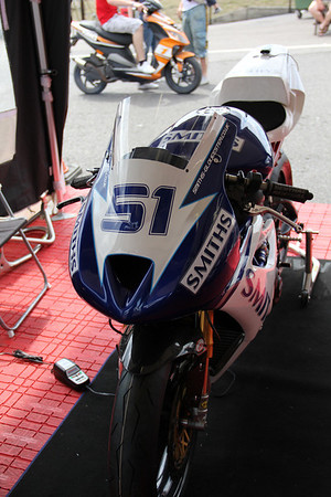 Matthew Whitman's Supersport Triumph 675