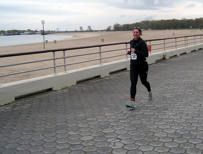 Brooke rocking out the second leg of the run - look out gulf coast, here comes Brooke!