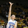 Broomfield's Sarah Hix goes tfor a lay-up against Conifer during the Final Four game at the Coors Event Center in Boulder on Wednesday <br /> <br /> March 10, 2010<br /> Staff photo/David R. Jennings