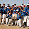 "The Broomfield Eagles holds up a trophy after winning the state championship on Saturday, May, 26, 2012, Denver.<br /> Photo by Derek Broussard<br /> For more photos visit  <a href=""http://www.dailycamera.com"">http://www.dailycamera.com</a>"
