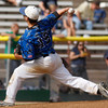 "Broomfield Brandon Bailey, #19, pitches during the  championship game on Saturday, May, 26, 2012, Denver. <br /> Photo by Derek Broussard<br /> For more photos visit  <a href=""http://www.dailycamera.com"">http://www.dailycamera.com</a>"