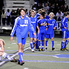 "Evergreen High School senior Tyler Hentges shows his emotion as Broomfield players celebrate their victory in the background during the Class 4A State soccer semifinals against Evergreen High School on Saturday, Nov. 6, at Englewood High School. <br /> For more photos go to  <a href=""http://www.dailycamera.com"">http://www.dailycamera.com</a><br /> Photo by JEREMY PAPASSO"