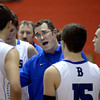 """Broomfield High School head coach Terrence Dunn talks with his team in a timeout during a game against Fountain- Fort Carson on Wednesday, Dec. 12, at Fairview High School in Boulder. For more photos of the game go to  <a href=""""http://www.dailycamera.com"""">http://www.dailycamera.com</a><br /> Jeremy Papasso/ Camera"""