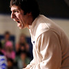 "Broomfield High School's Head Coach Joseph Pereira yells to one of his wrestlers during a wrestling match against Pomona High School at Broomfield High School on Wednesday, Jan. 25. For more photos of the matches go to  <a href=""http://www.dailycamera.com"">http://www.dailycamera.com</a><br />  Jeremy Papasso/ Camera"