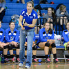 "Broomfield High School head coach Monica Tuz yells to her players during a volleyball match against Thompson Valley High School on Tuesday, Oct. 23, in Broomfield. For more photos of the game go to  <a href=""http://www.dailycamera.com"">http://www.dailycamera.com</a><br /> Jeremy Papasso/ Camera"