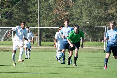 Broughton High School vs. Hoggard High, 3rd Round Varsity Mens Soccer State Playoff Game, November 11, 2015 at CASL Soccer Center, Raleigh