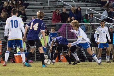 Broughton High School vs. Laney High, 4th Round Varsity Mens Soccer State Playoff Game, November 14, 2015 at Laney High School, Wilmington, NC