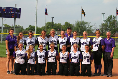 Brownsburg Softball Senior Night