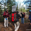 Trail clearing trip or a vanity photoshoot?   Shutters were clicking as we enter the Boundary Waters.