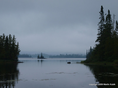 Bay view in the morning is pure magic!  Another reason to join for a weekend retreat on Brule Lake Trail.