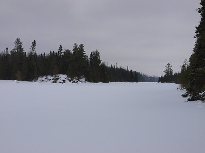 The western pennisula on Fishook Lake.