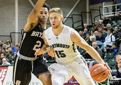 Bryant vs Dartmouth Men's Basketball