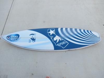 Bud Light Surfboard - 10/16/2014