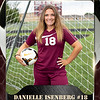 2x3 Banner Honeycomb Soccer Danielle