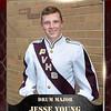 2x3 Banner Honeycomb Drum Major Jesse Young