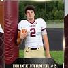 2x3 Banner Honeycomb Football bryce