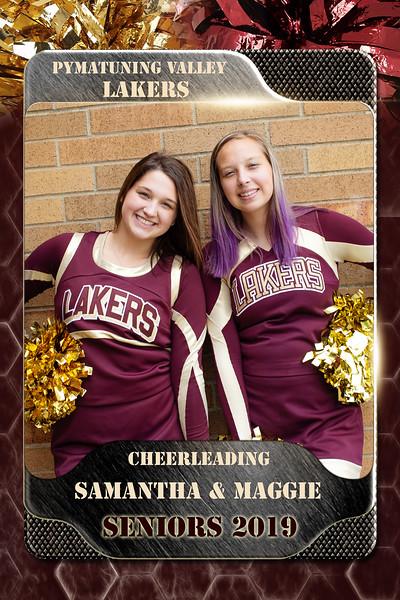 2x3 Banner Honeycomb cheer seniors