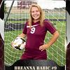 2x3 Banner Honeycomb Soccer Breanna