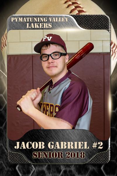 2x3 Banner Baseball Gabriel