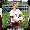 2x3 Banner Honeycomb Soccer Hannah