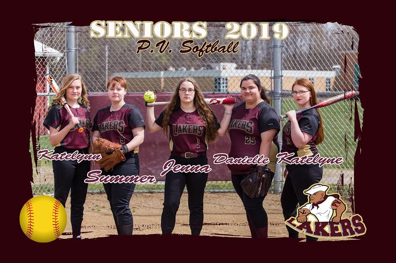2019 Softball Seniors