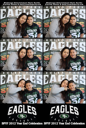 Buena Park Youth Football Year End Celebration - Photo Booth Photos
