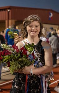 Bullard High School student Macey Bunger is crowned Homecoming queen on Friday, Oct. 9, 2020.