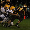 vv--stovall holds on for the tackle