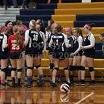 volleyball v. durand . senior night . 10.13.16