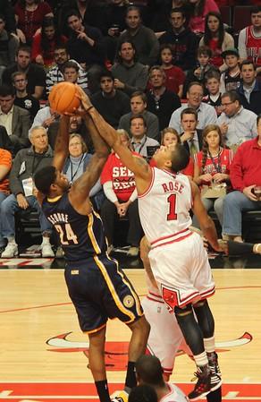 Bulls Game January 2012