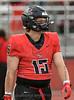 #15 Kyndall Cassidy<br /> Burleson High vs Arlington Seguin Football, Sept. 24th, 2021