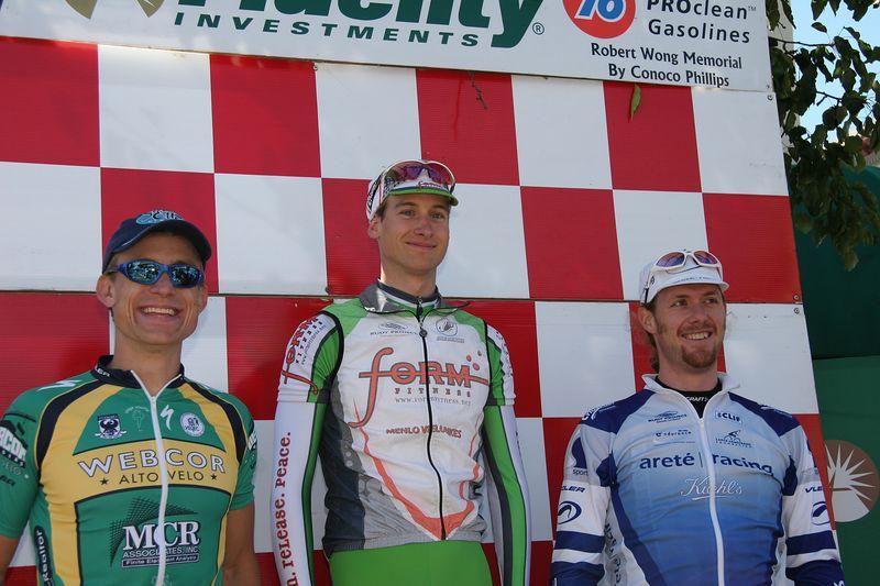 Men 3 Podium: Brian Buchholz 2nd, John Cahoy 1st, Darren Basso 3rd