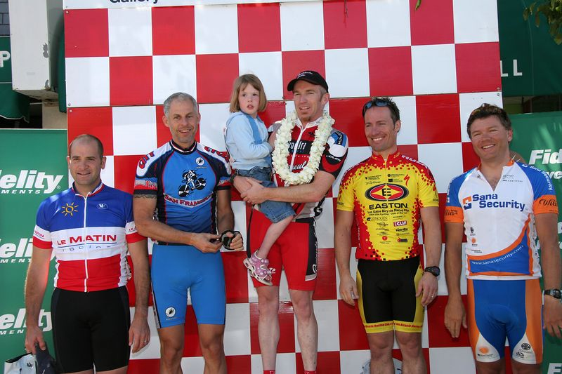 Masters 4/5 Podium: Sheen Khoury 4th, Doug Rappaport 2nd, Murray Swanson 1st, Thomas Oelsner 3rd, Joel Robertson 5th
