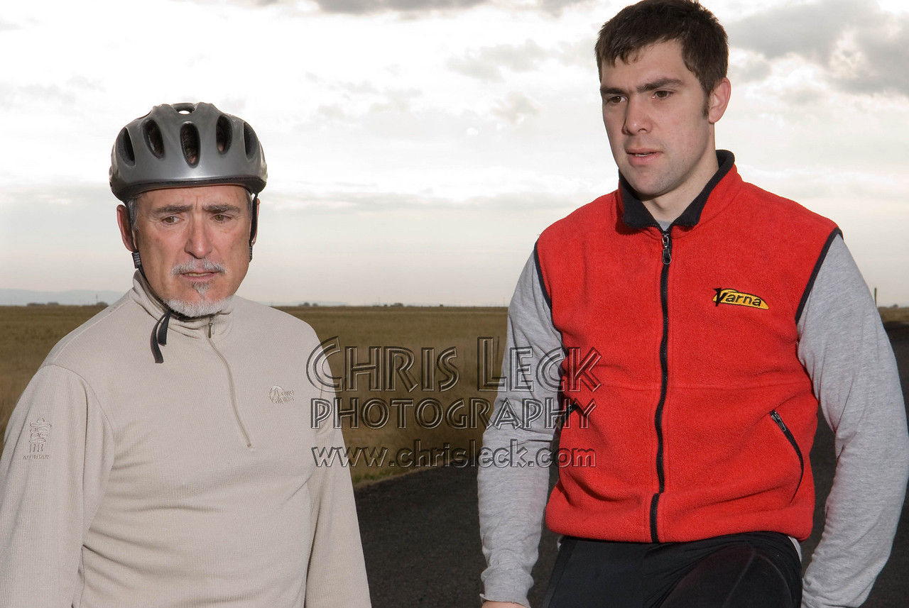 Sam Whittingham (l) and Lonnie Morse